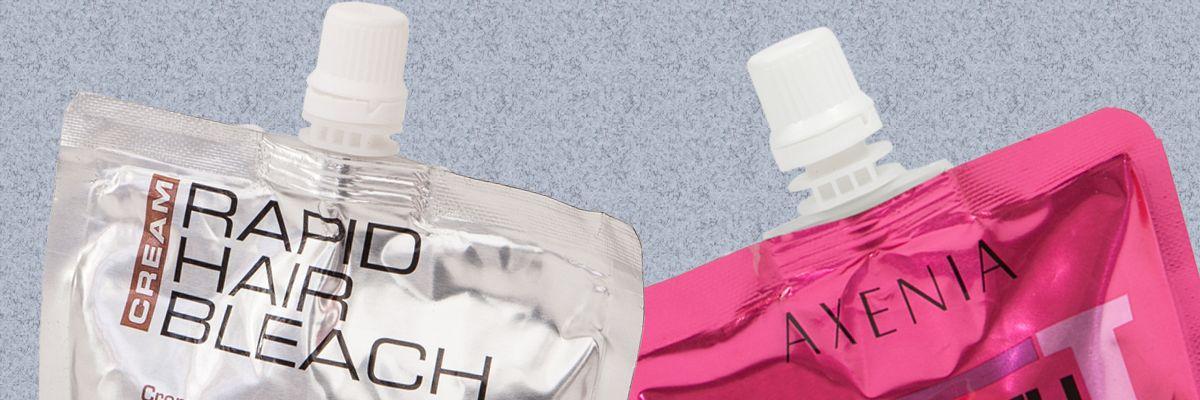 Buste con accessorio tappo in plastica