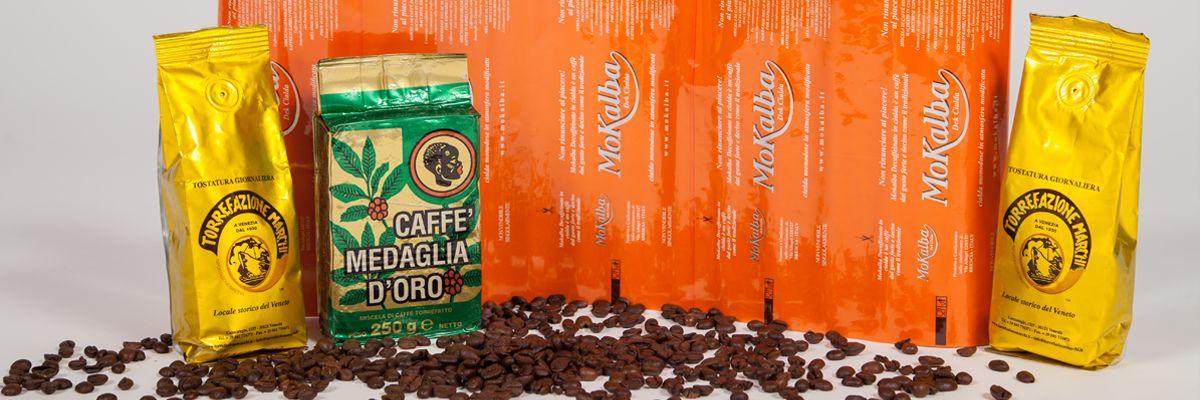 Buste personalizzate per Caffè