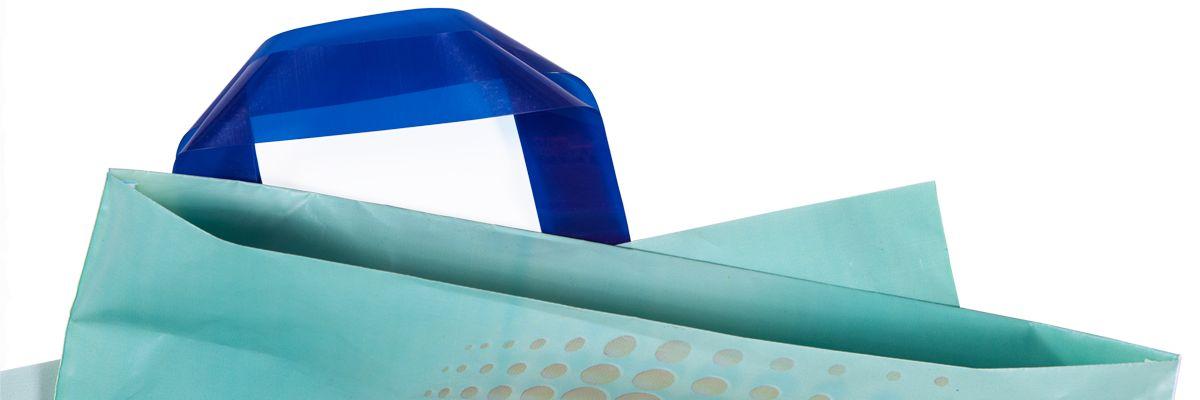 Shoppers personalizzate con maniglia Jet