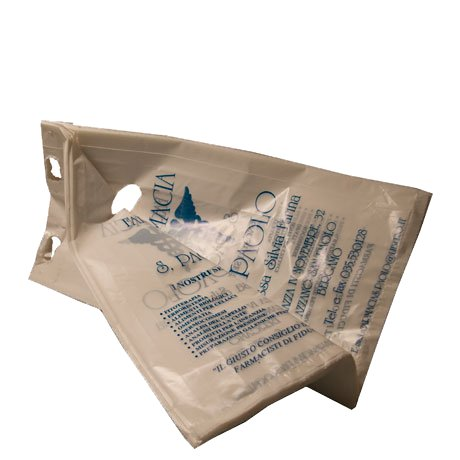 Sacchetto in plastica biodegradabile