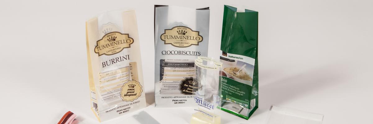 packaging per prodotti da forno