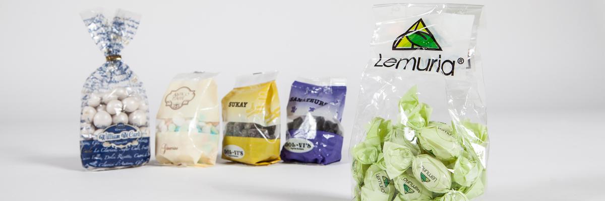 sacchetti di plastica per alimenti