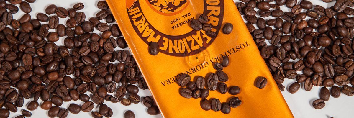 confezionamento del caffè