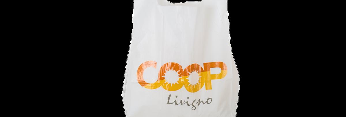 borse di plastica riutilizzabili